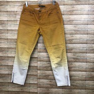 Prana Ombré Jett Cropped Jeans sz8/29